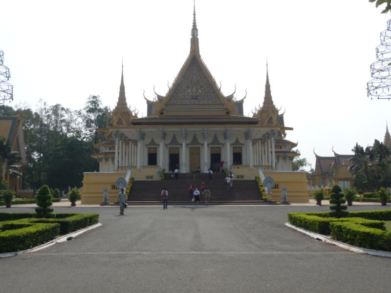 Preah Tineang Tevea Vinchhay (Throne Room) at the Royal Palace