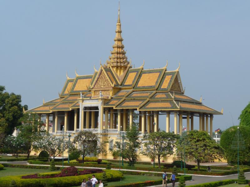 Preah Tineang Chanchhaya at the Royal Palace