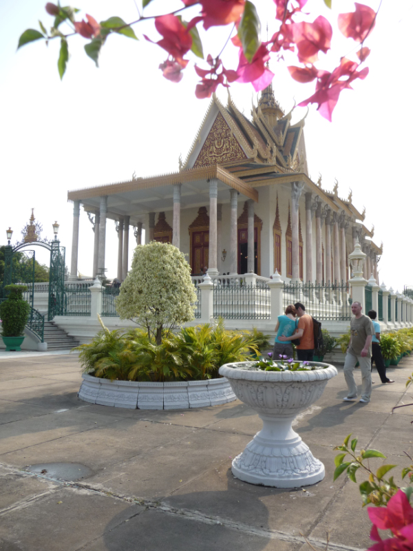 Temple of the Emerald Buddah at the Royal Palace