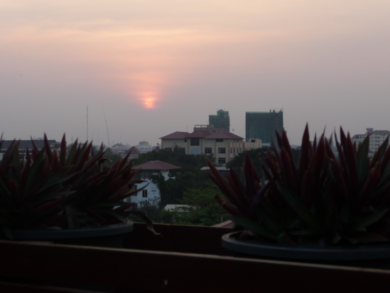 Sunset from Royal Inn Hotel