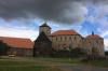 Dark clouds at Svihov Castle CZ