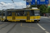 Tram transport in Pilsen CZ
