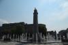 Fountain & summer fun at Trois-Rivieres, QE