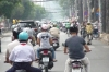 The cyclo tour of Saigon