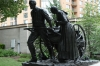 Handcart Pioneer Memorial, Temple Square, Salt Lake City, UT