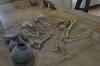 3000yo burial of male & female. Azarbayjan Museum, Tabriz