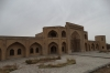 Caravanserai under renovation on road from Tabriz to Jolfa