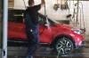 Washing the Renault Captur in Tartu EE