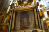 The cloak. Basilica of Our Lady of Guadalupe