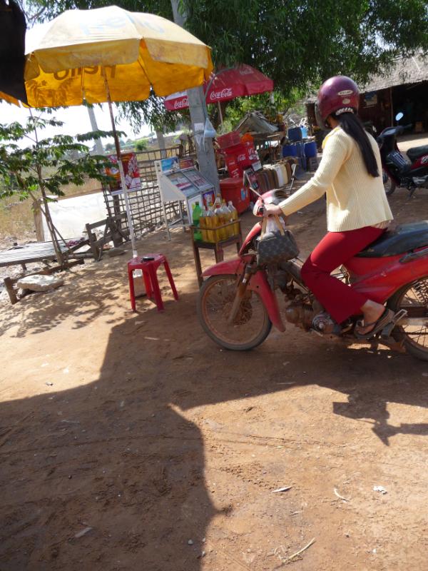 Petrol Station at Siem Reap