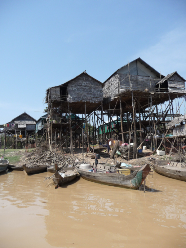 Kompong Phhluk floating village
