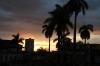 Sunset over Plaza Mayor, Trinidad