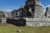 El Palacio. Archaeological ruins of Tulum called Zama