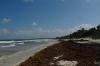 "A ""public"" beach along La Biosfera Sian Ka'an, near Tulum"