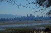 Vancouver from Spanish Banks, near the University of British Columbia