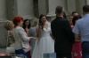 Wedding party (afterwards), Basilica Cathedral, Vilnius LT