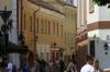Colourful houses in Vilnius LT