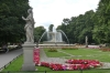 Fountain in Saski Park, Warsaw PL