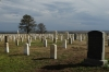 Veteran's cemetery at Little Bighorn, Custer's Last Stand