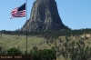 Devil's Tower, made famous in 'Close Encounters of the Third Kind'