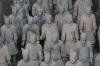 Terracotta warriors of Emperor Qin, pit 1, Xi'an