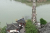 The bridge, from the top of Shibaozhai Pagoda