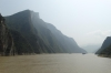 Sailing through the Qutang Gorge