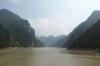 Sailing through the Wu Gorge
