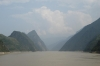 Sailing through the Wu Gorge