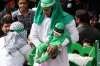 Babies dressed in green to remember Hussain's 6 month old son. Remembrance of Muharram, Day of Ashura in Mehriz