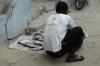 Selling fish. Zanzibar, Tanzania